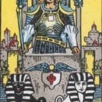 the chariot card rider waite