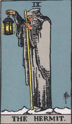 The Hermit Tarot Card's True Meaning: Love, Relationships