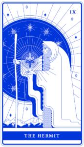 The Hermit illustration