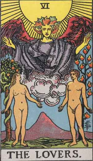 The Lovers Tarot Card's True Meaning: Love, Relationships