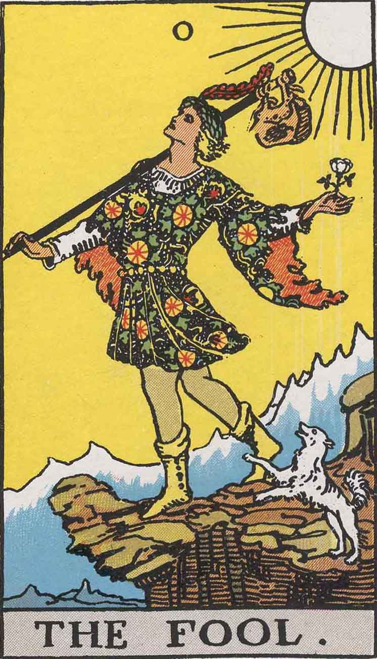 The Fool Tarot Card's True Meaning: Love, Relationships and More