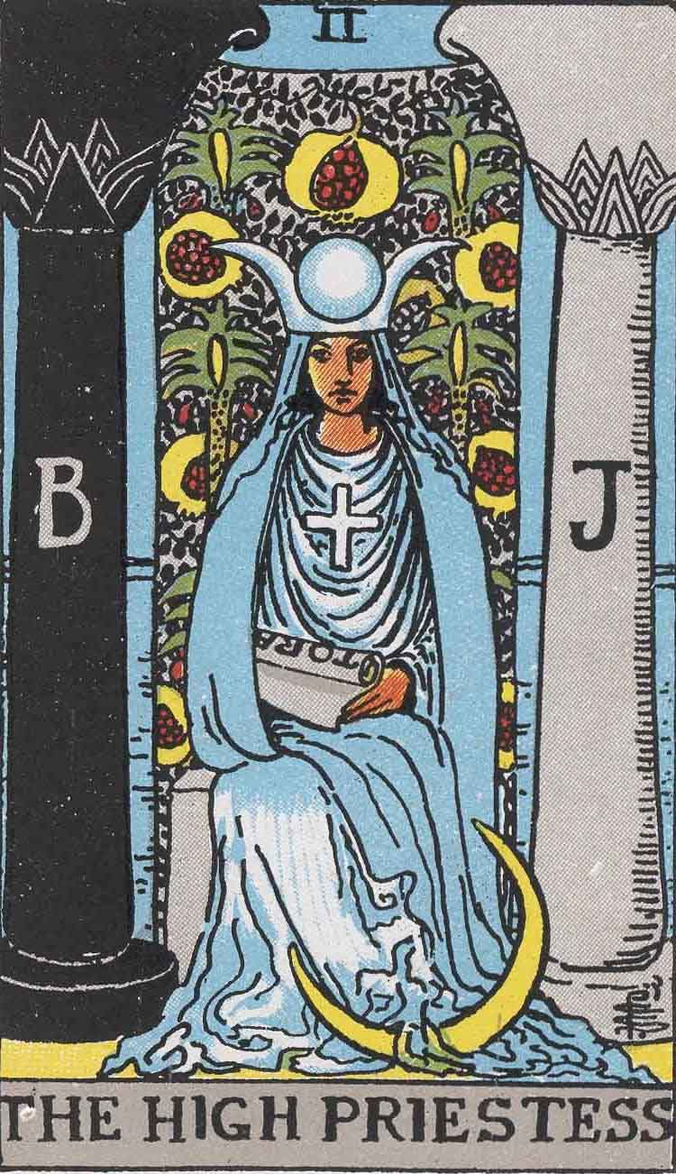 The High Priestess Tarot Card's True Meaning: Love