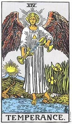 The Temperance Tarot Card's True Meaning: Love