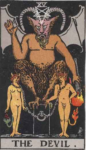 devil card rider waite