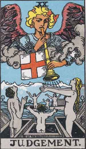 The Judgement Tarot Card's True Meaning: Love, Relationships