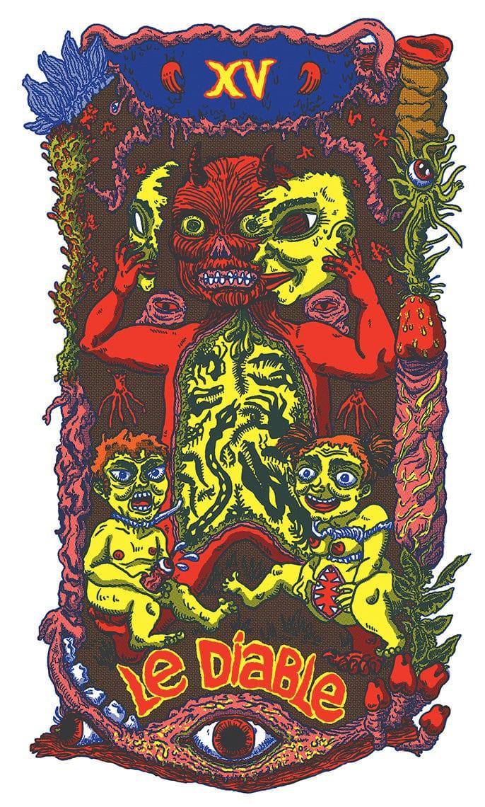 the devil card illustration