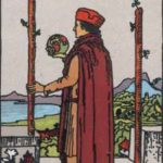 two of wands rider-waite