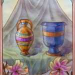 two of cups illustration
