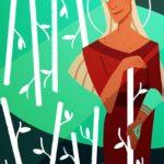 nine of wands illustration