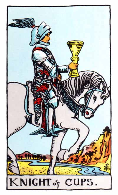 knight of cups rider-waite