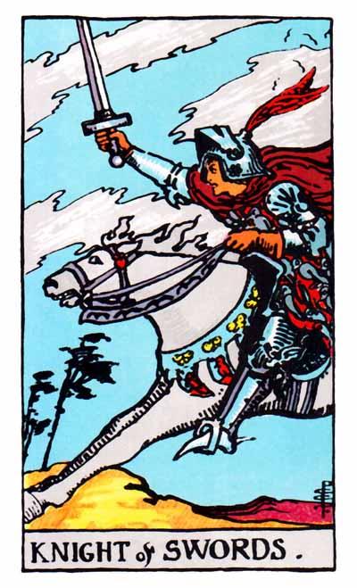 knight of swords rider-waite