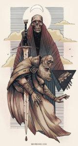 king of swords illustration