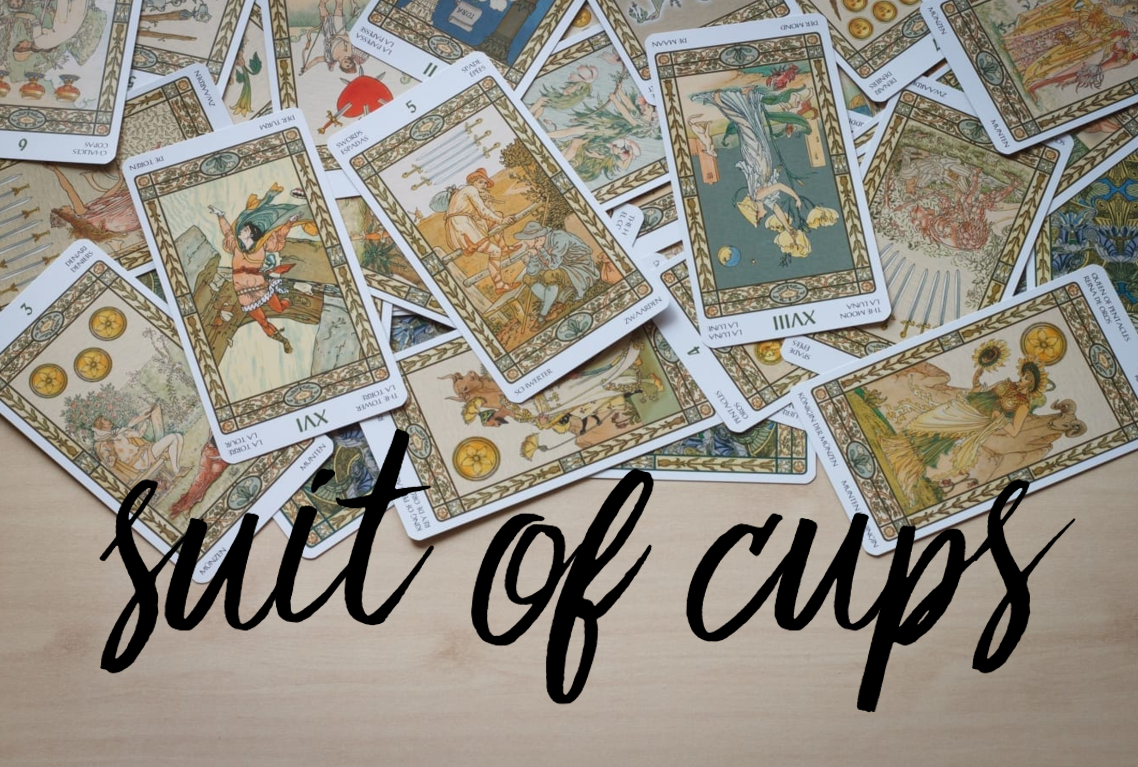 tarot cards suit of cups